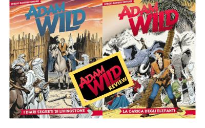 Adam Wild Review – La carica degli elefanti (AW 2) e I diari segreti di Livingstone (AW 3)