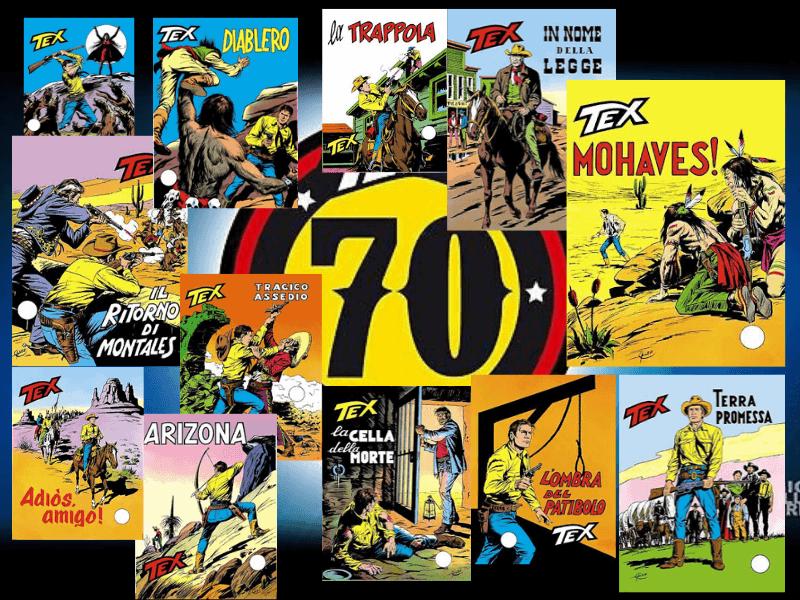 Tex 70 anni di recensioni: 1972