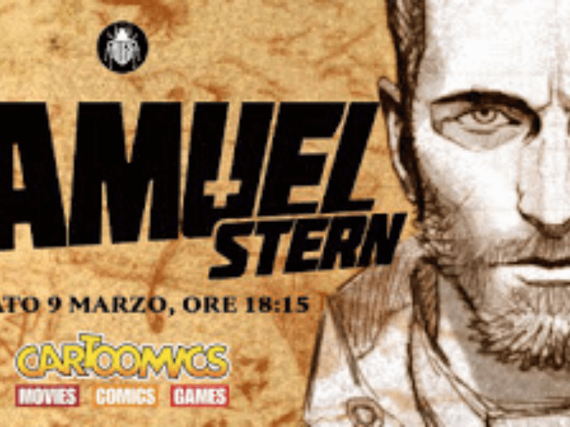 Samuel Stern (Bugs Comics) – Anteprima Cartoomics 2019