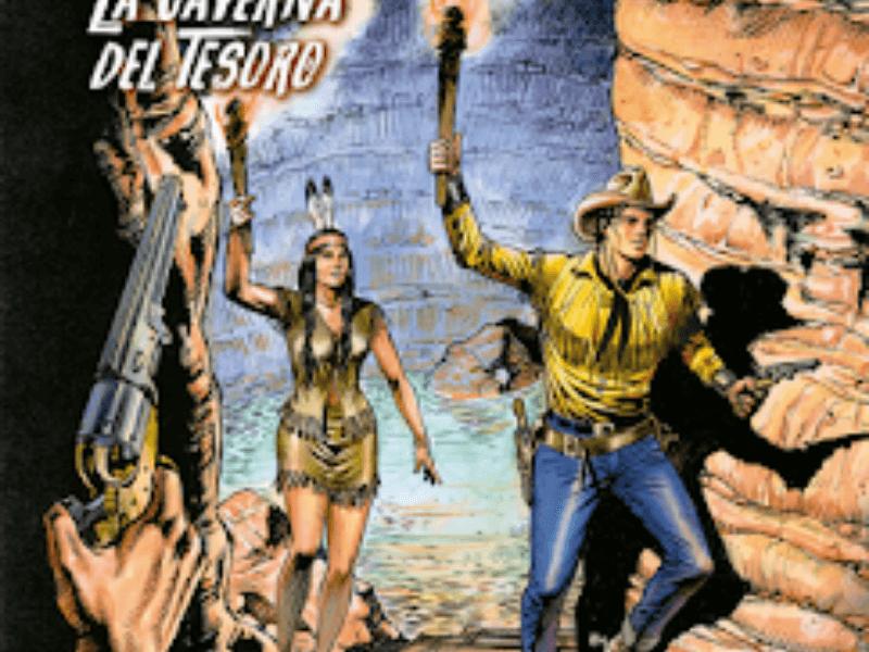 La caverna del tesoro – Tex Willer n.4 (febbraio 2019)