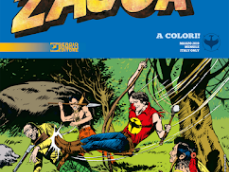 La foresta degli agguati – Zagor Classic n.1 (marzo 2019)