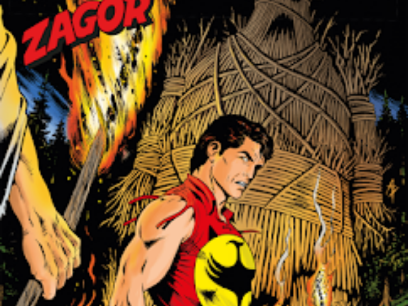 Il feticcio di fuoco – Zagor n. 645 (aprile 2019)
