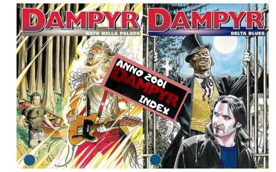 Dampyr Index: Nato nella palude (D15-16)