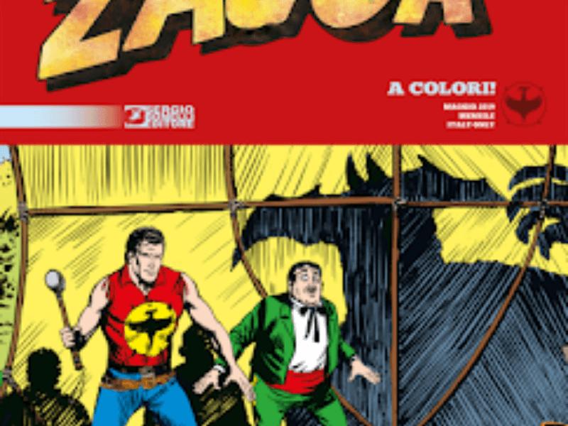 La morte invisibile – Zagor Classic n.3 (maggio 2019)