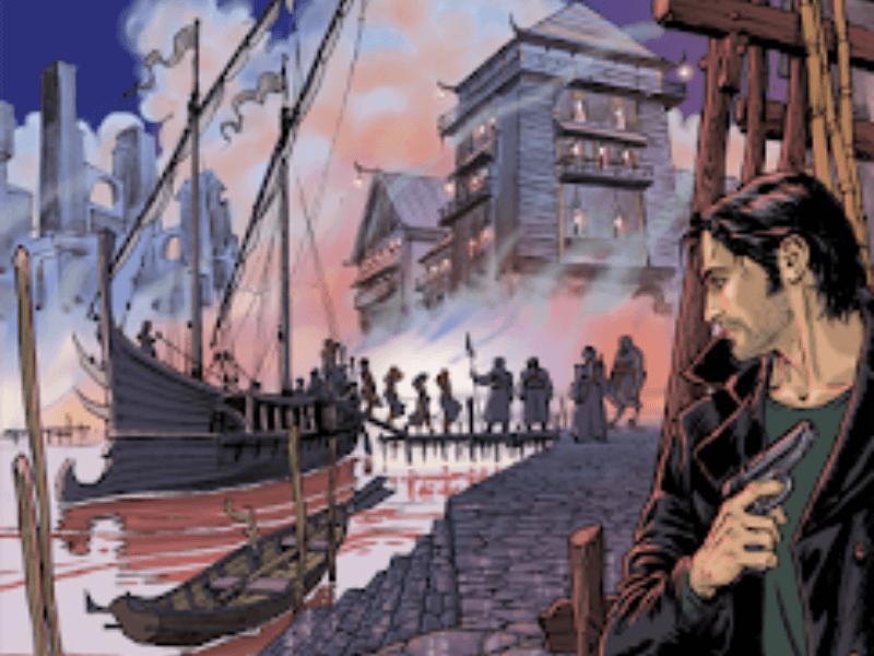 La città dell'uomo nero – Dampyr n.231 (giugno 2019) … e un riassunto in previsione dei Grandi Antichi!