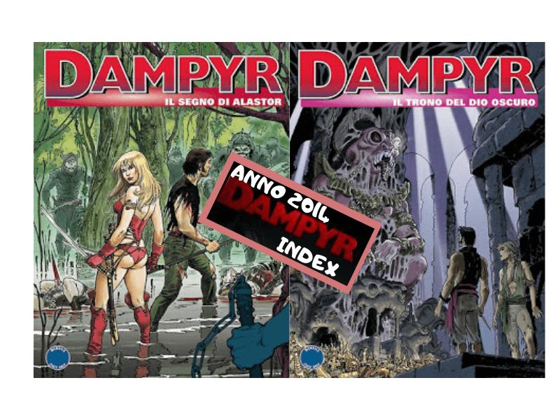 Dampyr Index: Il segno di Alastor (D173-174)