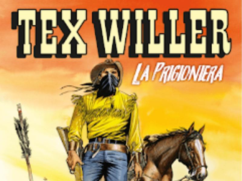 La prigioniera – Tex Willer n.8 (giugno 2019)