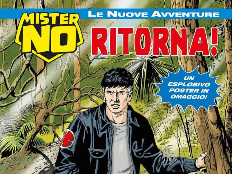 Mister No Ritorna – Mister No le NA n.1 (luglio 2019)