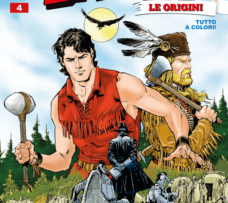 Furore – Zagor: Le Origini n.4 (settembre 2019)