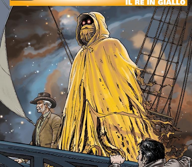 Il re in giallo – Dampyr n.235 (ottobre 2019)