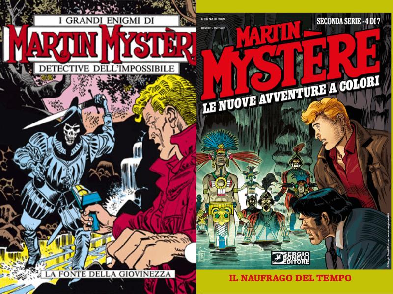 Le NAC2 di Martin Mystère: tra sottotrame e critica testuale