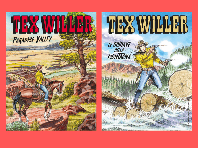 Paradise Valley – Tex Willer nn. 14-15