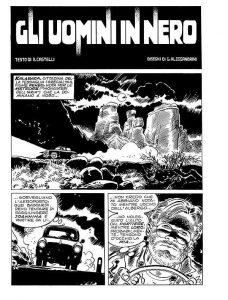 prima pagina uomini in nero