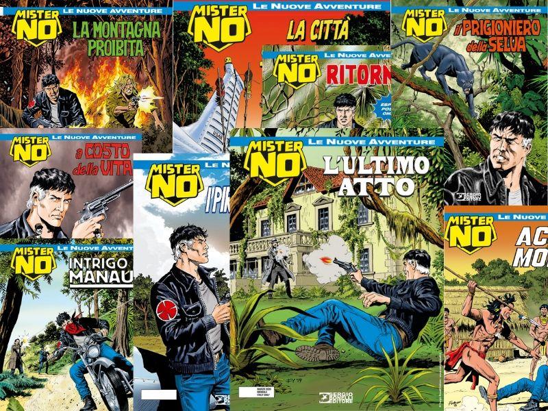L'ultimo atto – Mister No le NA n.9 (marzo 2020)… con una revisione della storia intera