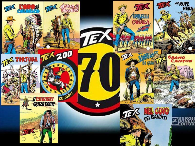 Tex 70 anni di recensioni: 1977