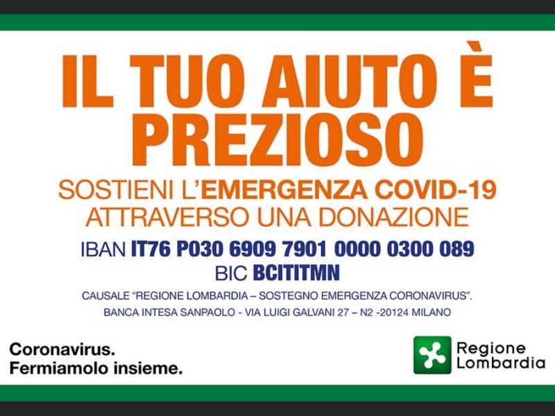 Sostegno agli Ospedali nell'emergenza COVID-19