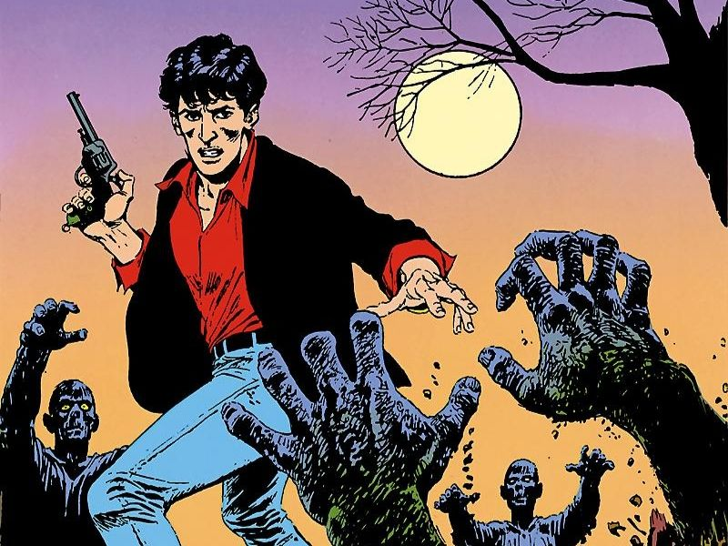 L'alba dei morti viventi – Dylan Dog n.1 (ottobre 1986)