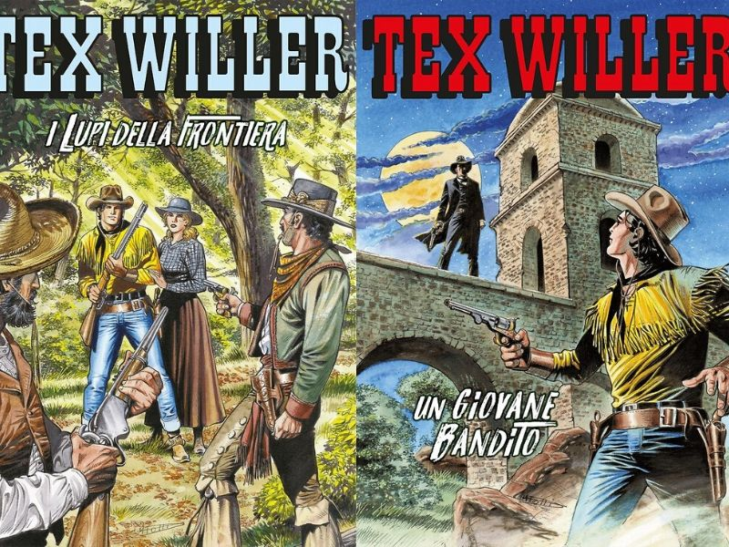 I lupi della frontiera – Tex Willer nn. 16-17 (feb./mar. 2020)