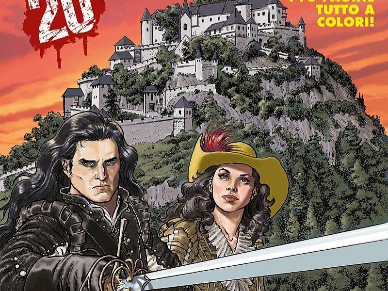 Il Cavaliere di Roccabruna – Dampyr 241 (aprile 2020)