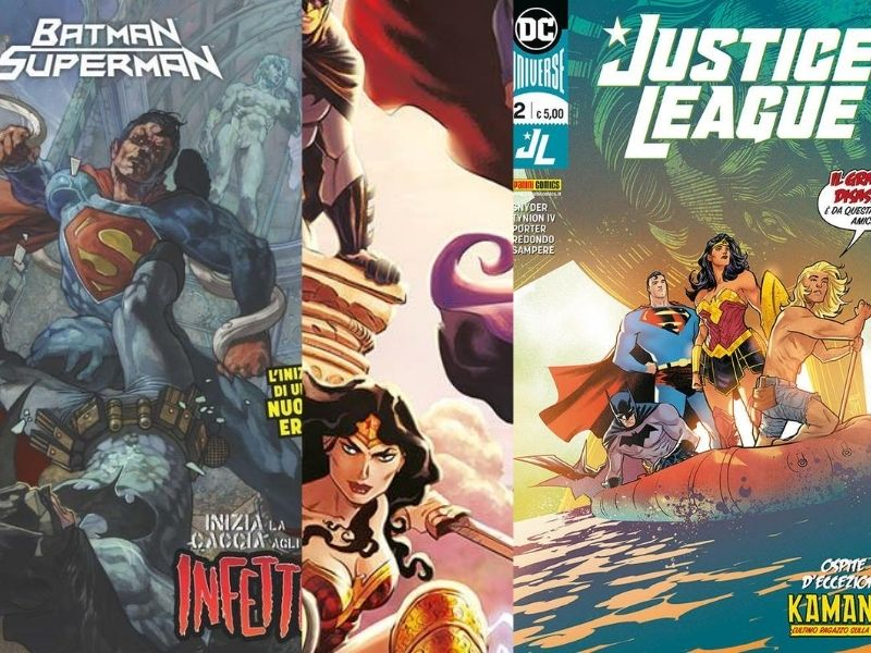 Justice League 1-2 & Batman/Superman 1-2 (giugno-luglio 2020)