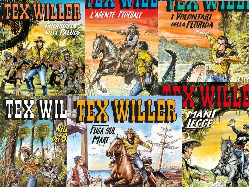 L'agente federale – Tex Willer nn. 18-23