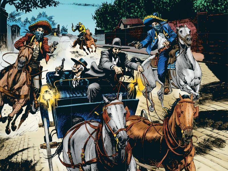 Attentato a Montales – Tex n.721 (novembre 2020)