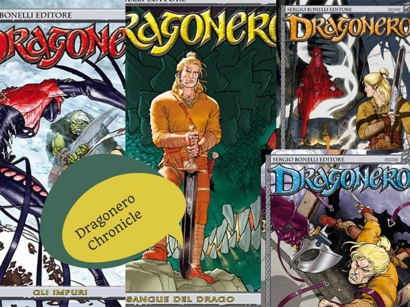 Dragonero Chronicle – Il sangue del drago nn.1-4 (giugno-sett. 2013)