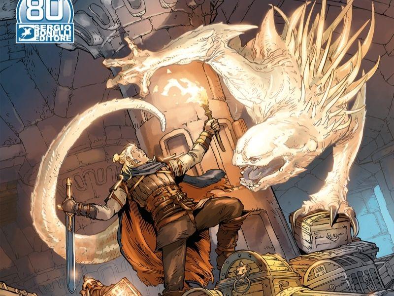 L'inaccessibile fortezza – Dragonero il ribelle n.15 (gennaio 2021)