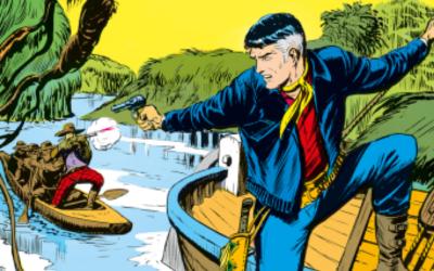Mister No Story -I pirati del fiume n.10 (marzo 1976)
