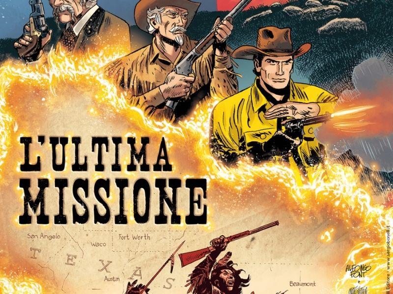 L'ultima missione – Tex alla francese (Giusfredi/Font)