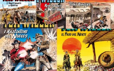 I razziatori del Nueces – Tex Willer nn.24-28