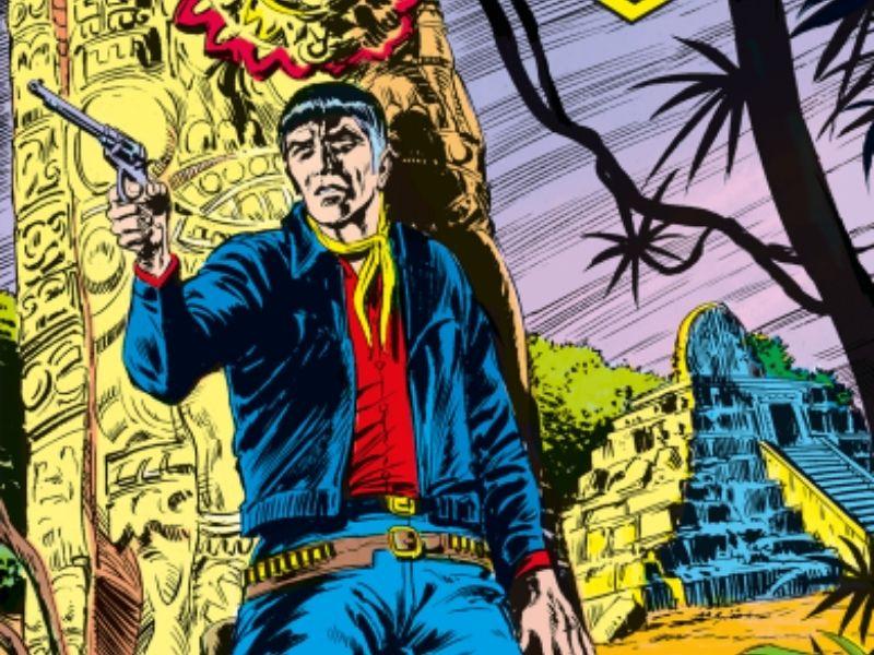 Mister No Story – Il tempio dei Maya (agosto 1976)